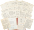 Explorers:Space Exploration, Apollo-Soyuz Test Project: Chris Kraft's Personal File on the November-December 1971 Moscow Planning Meeting, Directly from Hi...