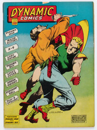 Dynamic Comics #3 (Chesler, 1942) Condition: VG/FN