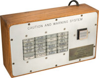 """""""CAUTION AND WARNING SYSTEM"""" 1970 Electronic Box Created for, Presented to, and Directly from the Estate of NA..."""