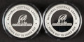 Football Collectibles:Others, 2020 NFC Championship Limited Edition Souvenir Game Coins, Lot of 2.... (Total: 2 items)