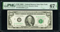 Fr. 2166-B $100 1969C Federal Reserve Note. PMG Superb Gem Unc 67 EPQ