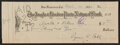 Autographs:Others, 1932 Ty Cobb Signed Check. ...
