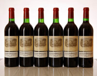 Chateau Lafite Rothschild 1982 Pauillac 3bn, 12lcc, 2ssos, Reconditioned at Chateau in 1994, owc Bottle (12)
