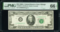 Small Size:Federal Reserve Notes, Fr. 2068-G $20 1969A Federal Reserve Note. PMG Gem Uncircu...
