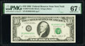Small Size:Federal Reserve Notes, Fr. 2027-B $10 1985 Federal Reserve Note. PMG Superb Gem U...