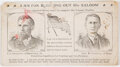 Political:Small Paper (pre-1896), Swallow & Carroll: Prohibition Party Jugate Ink Blotter....