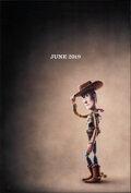 """Movie Posters:Animation, Toy Story 4 (Walt Disney Studios, 2019). Rolled, Very Fine+. One Sheet (27"""" X 40"""") DS Teaser. Animation.. ..."""