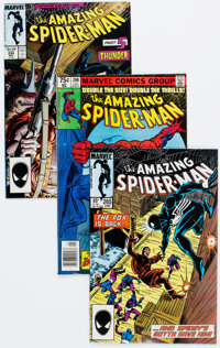 The Amazing Spider-Man Group of 94 (Marvel, 1979-87) Condition: Average FN/VF.... (Total: 94 Comic Books)