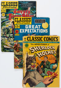 Classic Comics Group of 14 (Gilberton, 1942-49) Condition: Average GD.... (Total: 14 Comic Books)