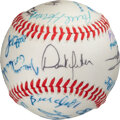 Baseball Collectibles:Balls, 1992 Derek Jeter High School All-Star Game Signed Baseball--One of His First after Signing with Yankees!...