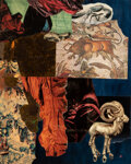 Paintings, Dorothy Hood (American, 1918-2000). Untitled. Mixed media on board with collage. 20 x 16 inches (50....