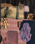 Works on Paper, Dorothy Hood (American, 1918-2000). Untitled. Mixed media on board with collage. 20 x 16 inches (50....