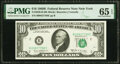 Small Size:Federal Reserve Notes, Fr. 2020-B $10 1969B Federal Reserve Note. PMG Gem Uncircu...