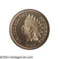 "Proof Indian Cents: , 1862 1C PR65 Cameo PCGS. The 1862 is the ""type"" coin from ..."