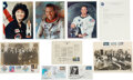 Autographs, Group of Autographs Relating to Astronauts and Astronomers...