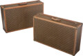 Decorative Accessories, A Pair of Louis Vuitton Suitcases, France, 20th century. 19 x 31-3/4 x 8-3/4 inches (48.3 x 80.6 x 22.2 cm) (each). Prop... (Total: 2 Items)