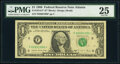 Small Size:Federal Reserve Notes, Fr. 1914-F* $1 1988 Federal Reserve Star Note. PMG Very Fine 25.. ...