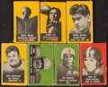 Football Cards:Lots, 1950 Topps Felt Back Football Collection (53). ...