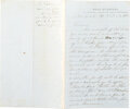 Autographs:Military Figures, General P. G. T. Beauregard Autograph Letter Signed Following the First Battle of Bull Run. ... (Total: 2 )