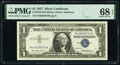 Small Size:Silver Certificates, Fr. 1619 $1 1957 Silver Certificate. PMG Superb Gem Unc 68...