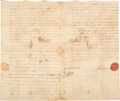 Autographs, William Alexander, Lord Stirling Document Signed, ...