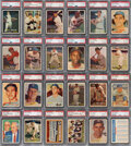 Baseball Cards:Sets, 1957 Topps Baseball Complete Master Set (421) With Baker Error, Lucky Penny, All Checklist & Contest Cards....