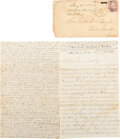 Autographs, Charles L. Taylor Autograph Letter Signed with Military Execution Content. ...