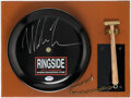 Boxing Collectibles:Autographs, Mike Tyson Signed Bell. ...
