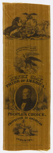 """Political:Ribbons & Badges, Henry Clay: """"Pride of America"""" Ribbon...."""