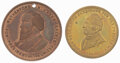 John Bell and Rutherford B. Hayes: Two Tokens.... (Total: 2)