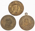 Political:Tokens & Medals, Horace Greeley: Tokens and Lapel Badge....