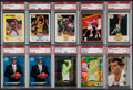 Basketball Cards:Lots, 1989-1995 Multi-Brand Basketball PSA Graded Collection (10)....