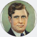 """Political:Pinback Buttons (1896-present), Wendell Willkie: Large 9"""" Color Button. ..."""