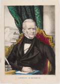 Political:Posters & Broadsides (pre-1896), James G. Birney: 1844 Liberty Party Campaign Print. ...