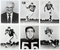 Football Collectibles:Photos, 1960's Chicago Bears Signed Photographs Lot of 43....