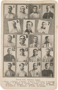Baseball Collectibles:Others, Very Rare 1908 PC770 American League Publishing Company Detroit Tigers Postcard - Uncatalogued....