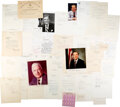 Autographs, Large Collection of Assorted U.S. Cabinet Secretary Signatures. ...