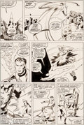 Original Comic Art:Story Page, John Buscema Fantastic Four ...