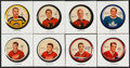 Hockey Collectibles:Others, 1961/62 Sherriff Hockey Coin Near Set (118/120). ...