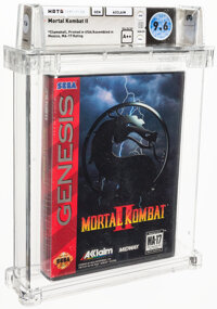 Mortal Kombat II - Wata 9.6 A++ Sealed, GEN Acclaim 1994 USA