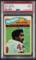 Football Cards:Singles (1970-Now), 1977 Topps Mike Haynes #50 PSA Mint 9....