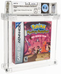Video Games:Nintendo, Pokemon Mystery Dungeon: Red Rescue Team - Wata 9.0 A Sealed, GBA Nintendo 2005 USA. ...