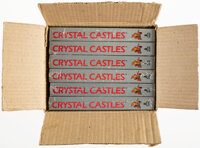 Factory Case Pack of 6 (Opened) - Crystal Castles - 2600 Atari 1983 USA