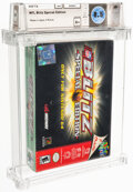 Video Games:Nintendo, NFL Blitz Special Edition - Wata 8.5 A+ Sealed, N64 Midway 2001 USA. ...