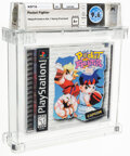 Video Games:Playstation, Pocket Fighter - Wata 9.6 A+ Sealed [Sony Security Label], PS1 Capcom 1998 USA. ...