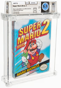 Super Mario Bros. 2 - Wata 5.5 B Sealed [Oval SOQ R], NES Nintendo 1988 USA