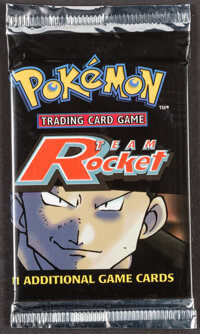 Pokémon Unlimited Giovanni Team Rocket Set Sealed Booster Pack (Wizards of the Coast, 2000)