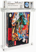 Video Games:Nintendo, Street Fighter II - Wata 7.5 A+ Sealed [Made in Japan], SNES Capcom 1992 USA. ...