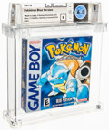 Video Games:Nintendo, Pokemon Blue Version - Wata 6.0 B Sealed, GB Nintendo 1998 USA....