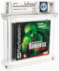 Video Games:Playstation, Tom Clancy's Rainbow Six: Lone Wolf - Wata 9.4 A Sealed [Sony Security Label], PS1 Red Storm 2002 USA....
